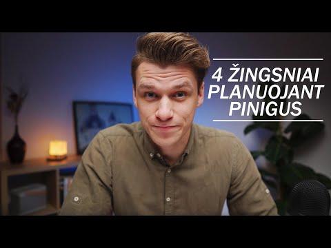 KAIP PLANUOTI PINIGUS?