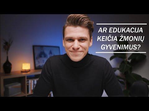 EDUKACIJOS SVARBA