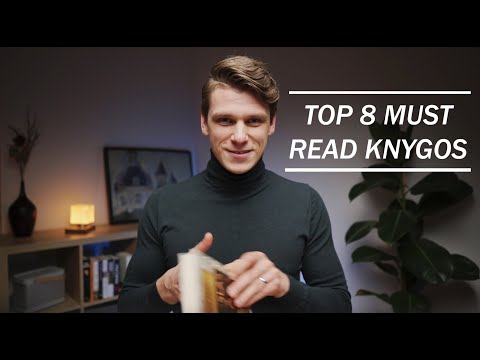 """TOP 8 """"MUST READ"""" KNYGOS"""